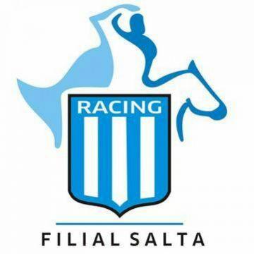 Escudo de la filial de Racing Club en Salta.