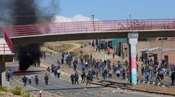 Los mineros no aceptaron el llamado al diálogo propuesto por el gobierno (EFE)