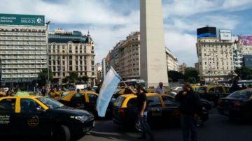 Los taxistas también se oponen al funcionamiento del servicio privado