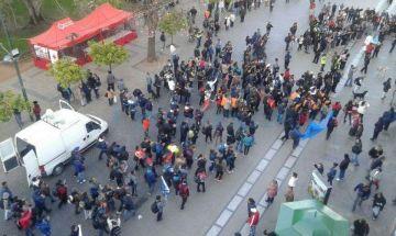 Los peregrinos forman parte de la fuerza policial.