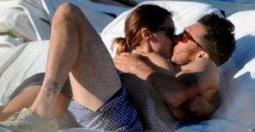 Nuevas imágenes de la pareja del año. Pampita y Mónaco pasearon por Palermo.