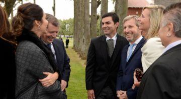 Urtubey, con el ministro Rogelio Frigerio