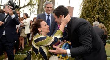 Urtubey y la vicepresidenta Gabriela Michetti