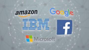 Los cinco gigantes tecnológicos se aliaron para investigar la Inteligencia Artificial.