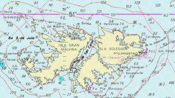 Carta náutica H-441