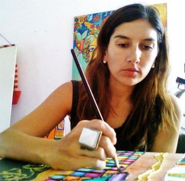 Romina Lerda, la artista que se volvió viral.
