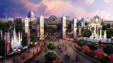 Vista de la entrada del Paramount Entertainment Resort