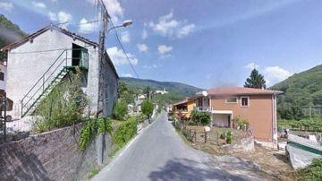 Vista de Bormida, un pueblo italiano en Liguria