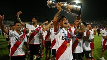 Enzo Pérez, se comió la cancha, y fue elegido el mejor jugador del partido