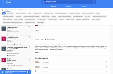 Plataformas aliadas donde Google ofrecerá ofertas laborales.