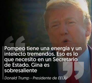 Trump respalda a Pompeo.