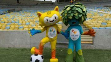 Las mascotas oficiales de estos Juegos Olímpicos.