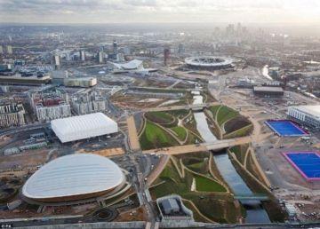 Imagen de la villa olímpica en Brasil.