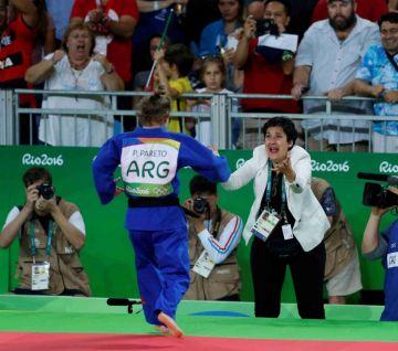 Foto Clarín: Paula pareto ganó medalla de Oro en #JJOO2016