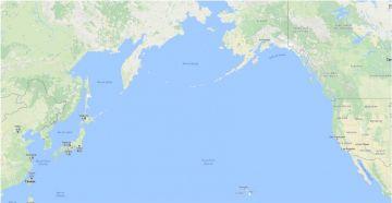 Misil de Corea del Norte a San Francisco