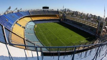 El estadio y entradas