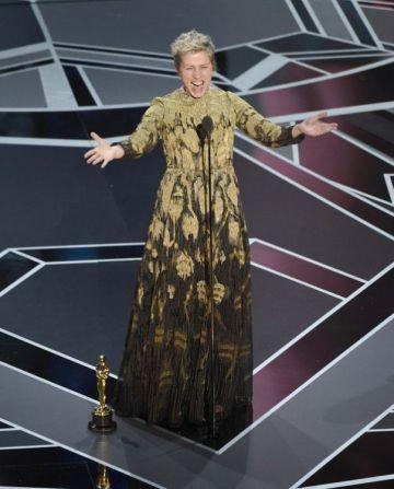 Frances McDormand, la mejor actriz