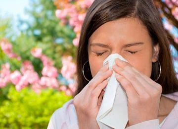 Puede combatir las alergias de temporada