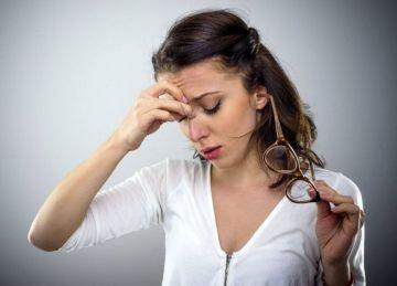 Vista cansada y dolores de cabeza
