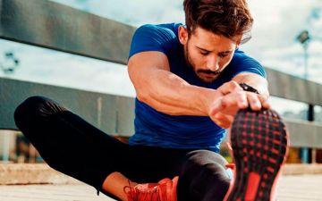 Luego de terminada la actividad física no olvides, estirar o elongar
