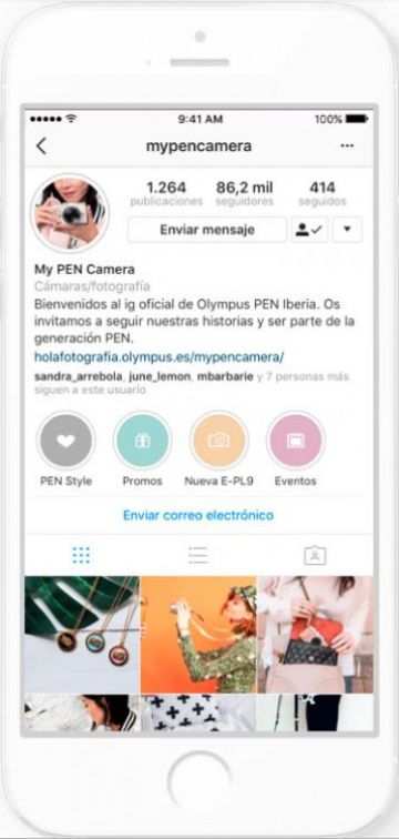Crear contenido para Instagram