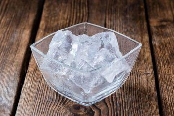 Colocar hielo