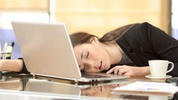 No descansar provoca un mal rendimiento laboral